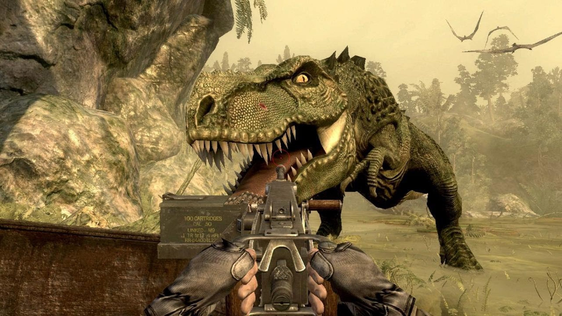 (JURASSIC: THE HUNTED - ACTIVISION)