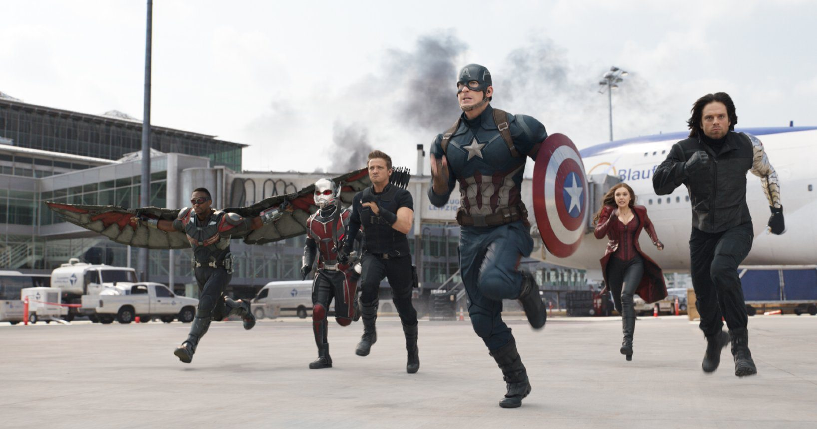 (Captain America: Civil War, Walt Disney Studios, Marvel Studios)