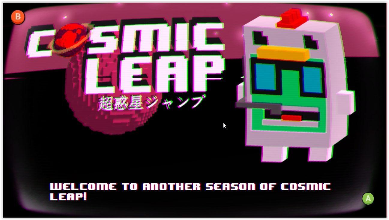 Cosmic Leap TV Filter
