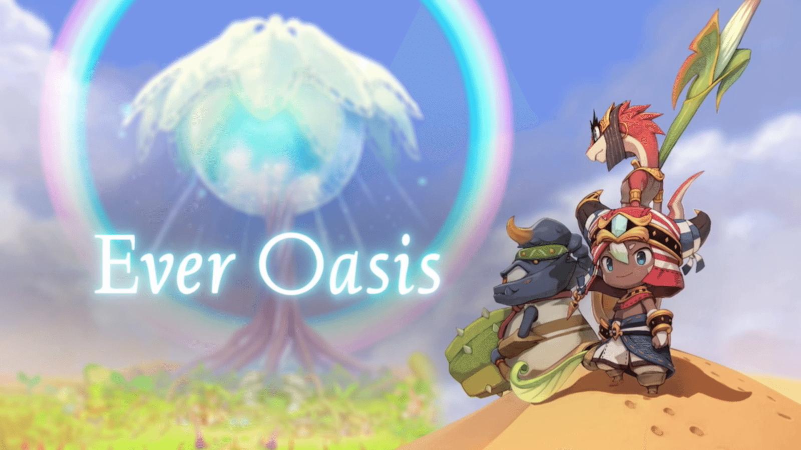 Ever Oasis, Nintendo