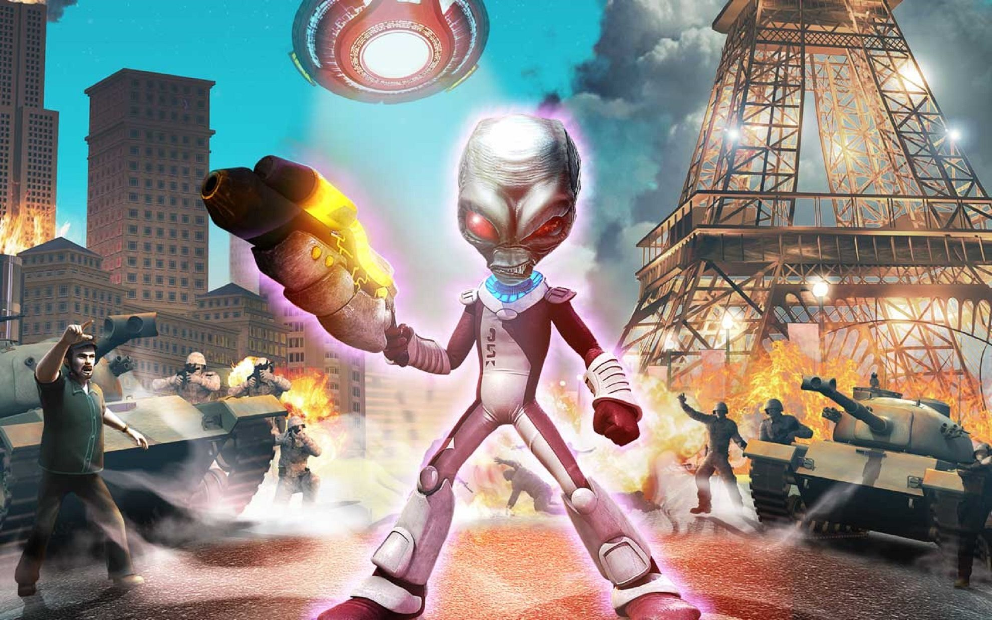 (DESTROY ALL HUMANS! - NORDIC GAMES)