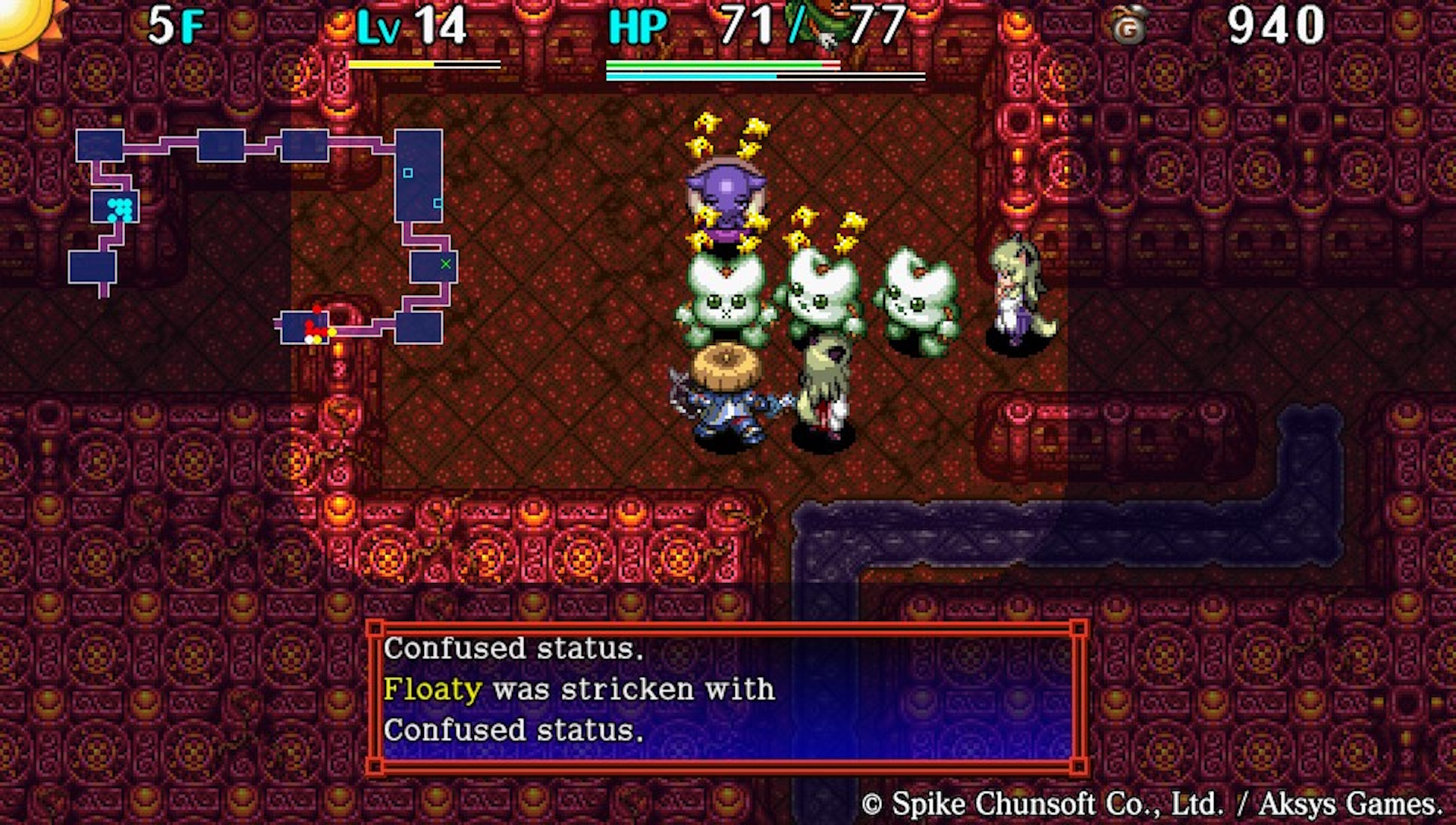 (<em>Shiren the Wanderer: The Tower of Fortune and the Dice of Fate</em>, Aksys Games)