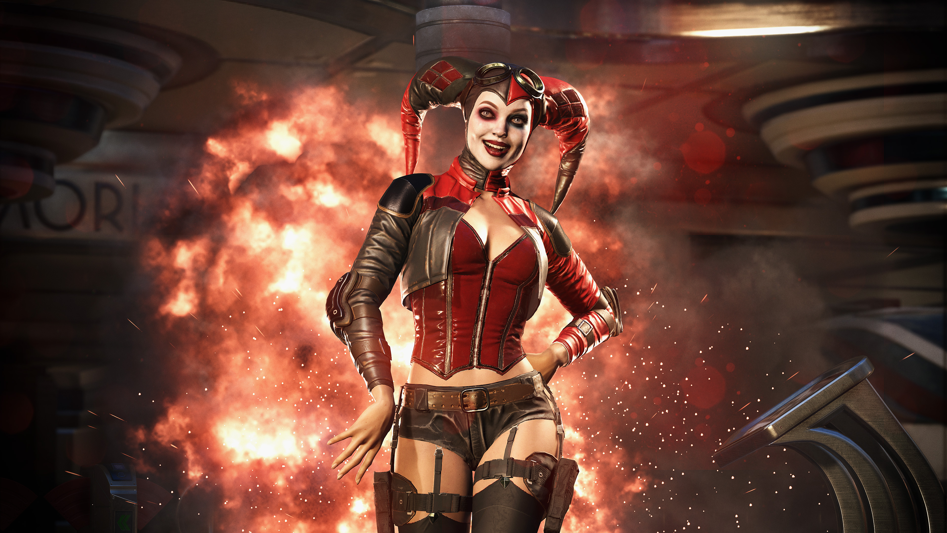 Injustice 2 Harley Quinn Screenshot BagoGames