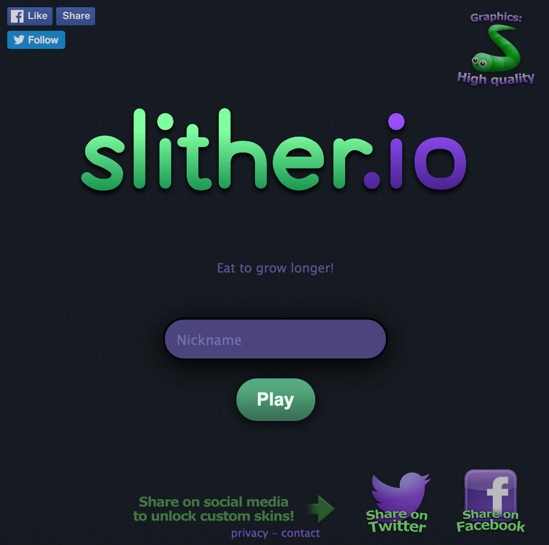 slither.io on Poki, Play for free
