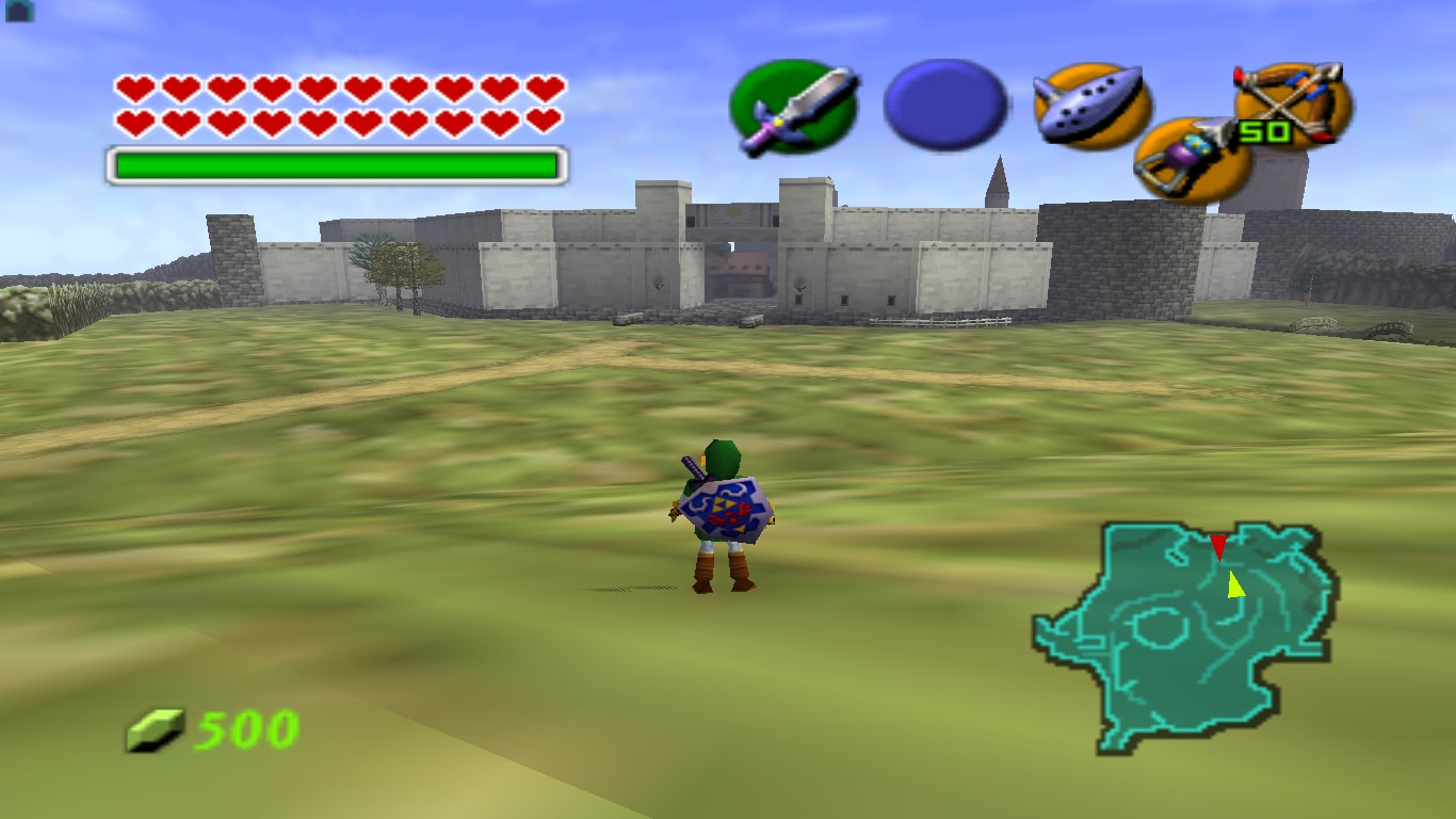(Ocarina of Time, Nintendo)