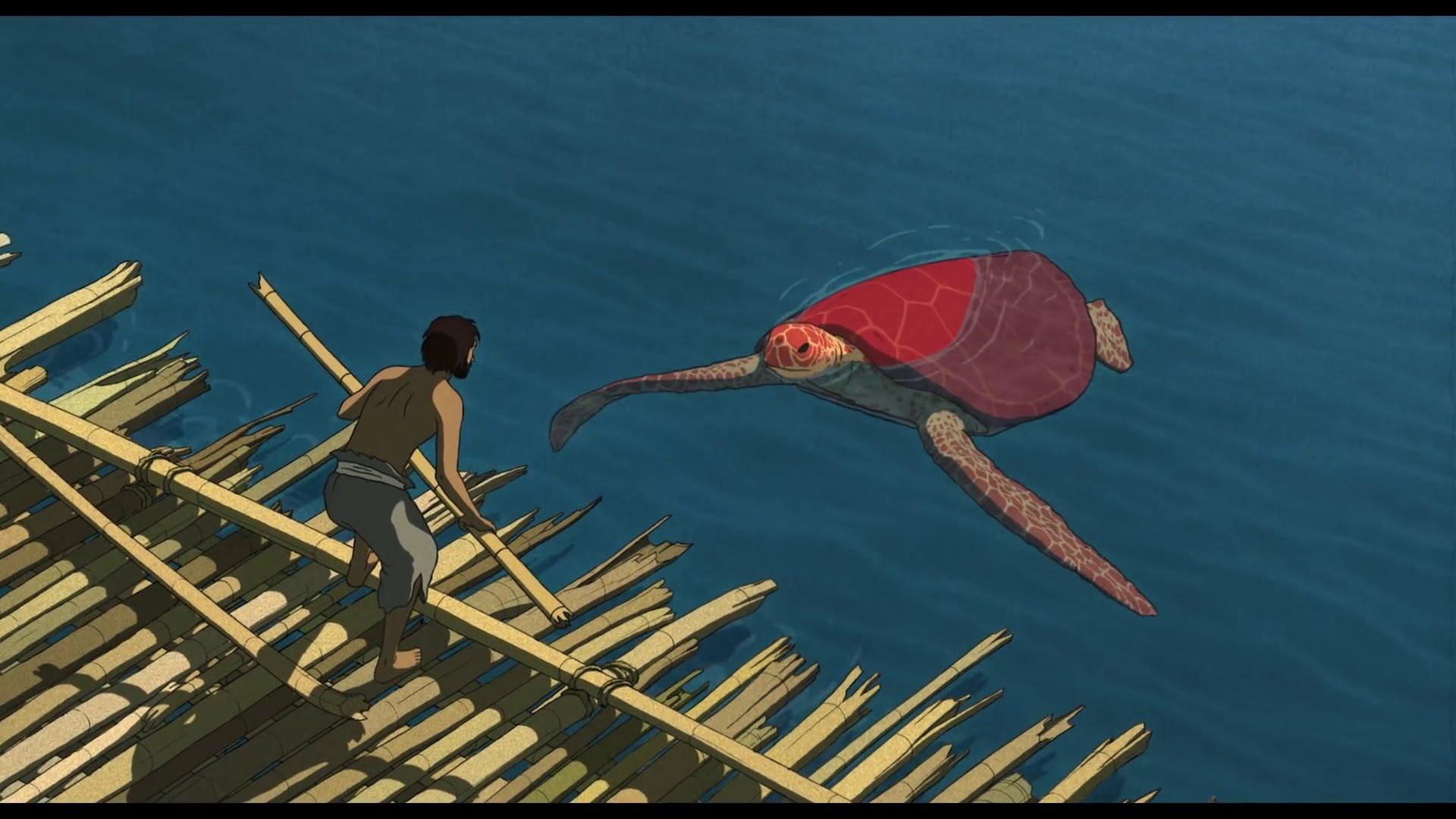 (The Red Turtle, Studio Ghibli)
