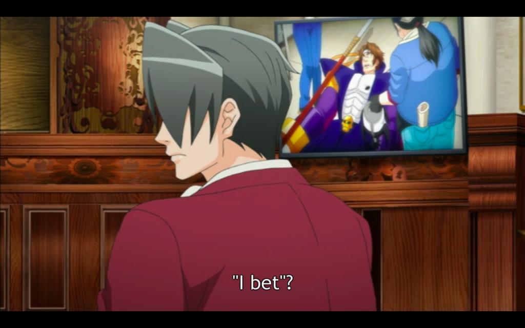 (<em>Ace Attorney Anime</em>, A-1 Pictures)