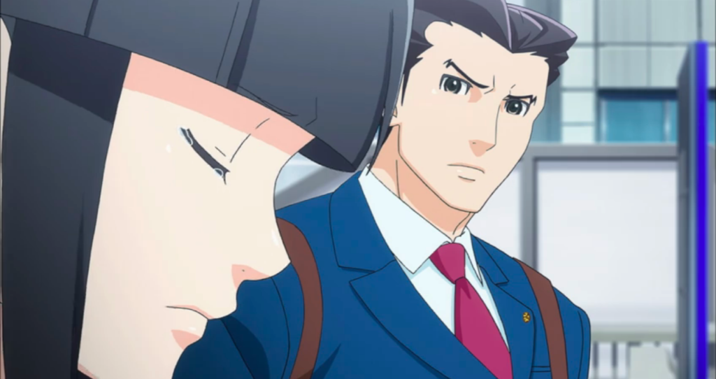 Ace Attorney Anime / Crunchyroll