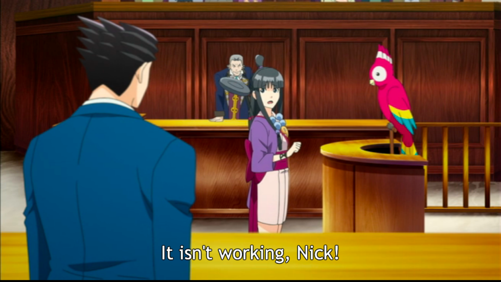 (<em>Ace Attorney Anime</em>, A-1 Pictures)