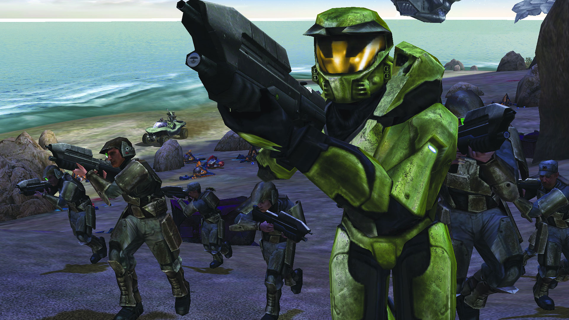 (Halo: Combat Evolved, Microsoft)