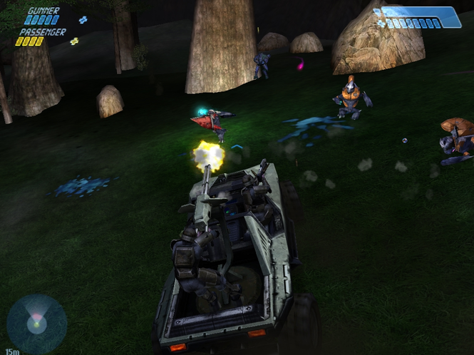 Halo: Combat Evolved, Microsoft