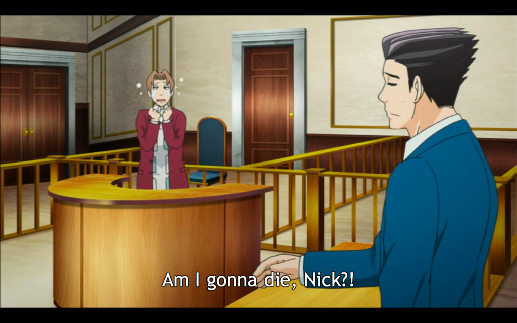 Ace Attorney Anime / A-1 Pictures