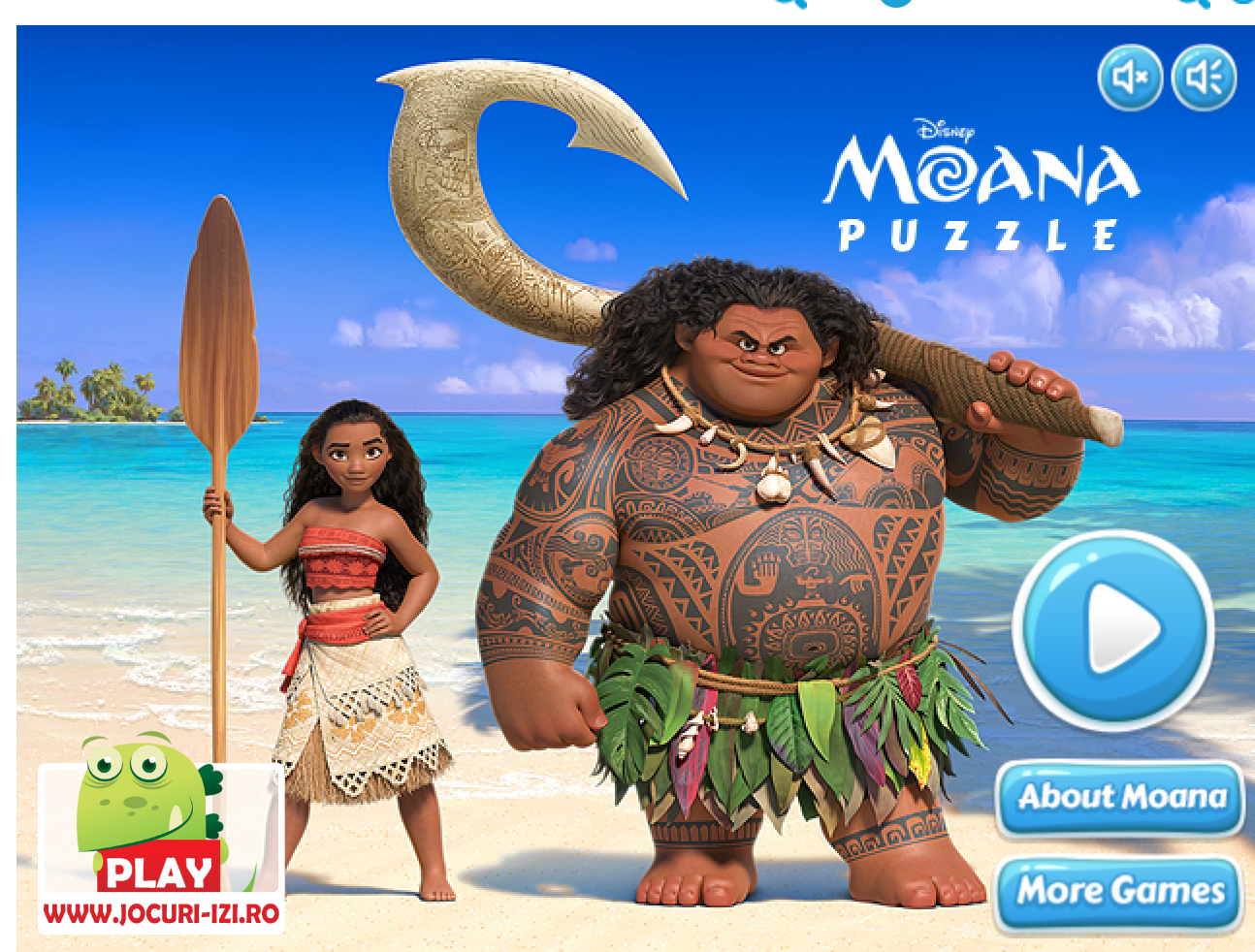 The variety of Moana games on Poki means there's something for ...