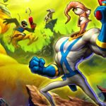 (Earthworm Jim, Playmates Interactive/Virgin Interactive)