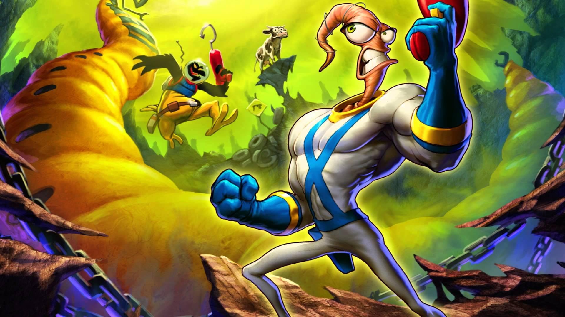 (Earthworm Jim, Playmates Interactive/Virgin Interactive)
