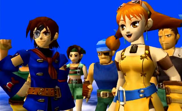 (Skies of Arcadia - Sega)