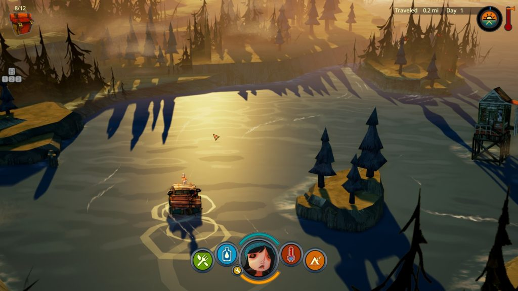 Flame in the Flood, The Molasses Flood