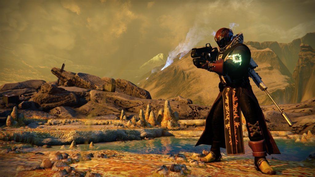 Warlock on Venus, Destiny, Activision
