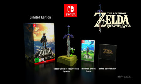 Breath of the Wild UK Limited Edition / Nintendo