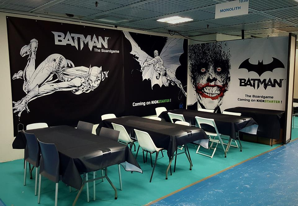 Facebook post by Monolith for Batman: The Board Game