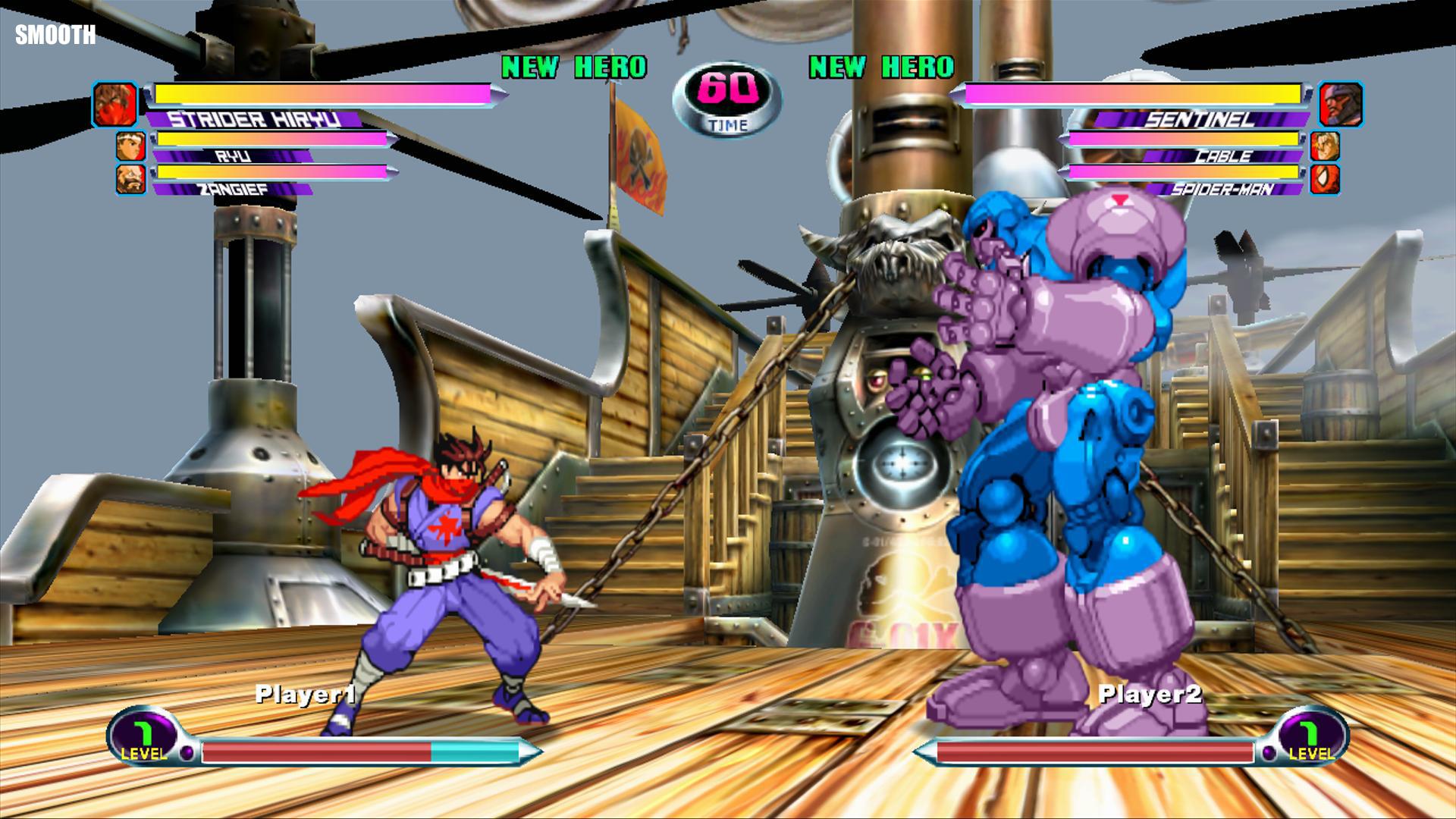 Marvel vs Capcom 2, Capcom