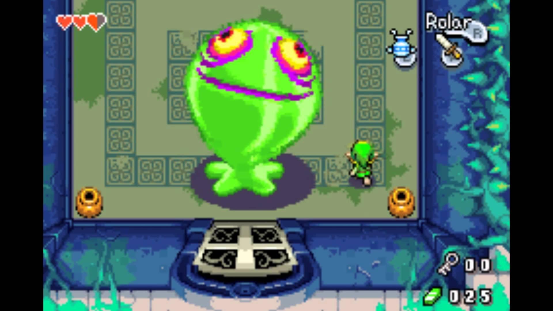 The Legend of Zelda: The Minish Cap, Nintendo