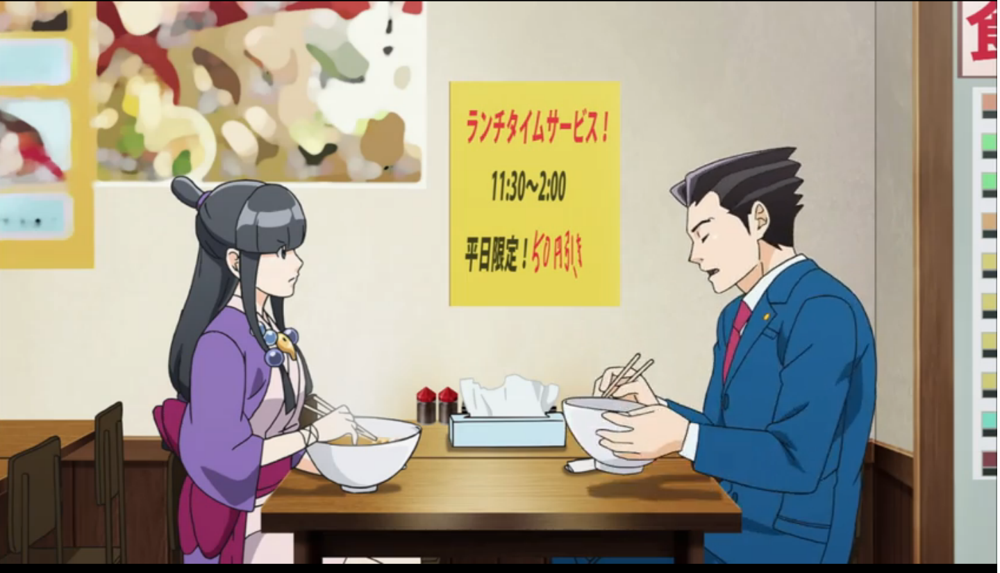 Ace Attorney Anime Ep 18 / A-1 Pictures