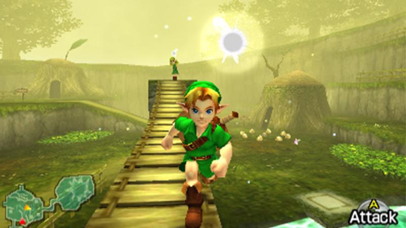The Legend of the Zelda: Ocarina of Time 3D, Nintendo