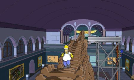 (The Simpsons Game - EA)