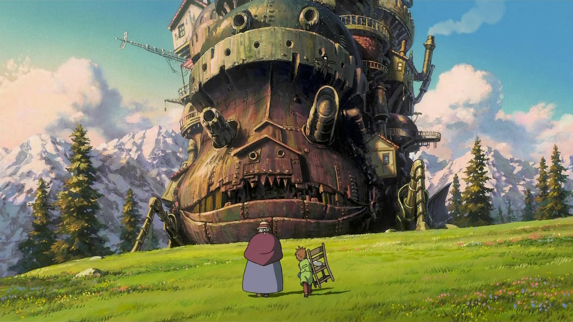 Howl's Moving Castle / Studio Ghibli