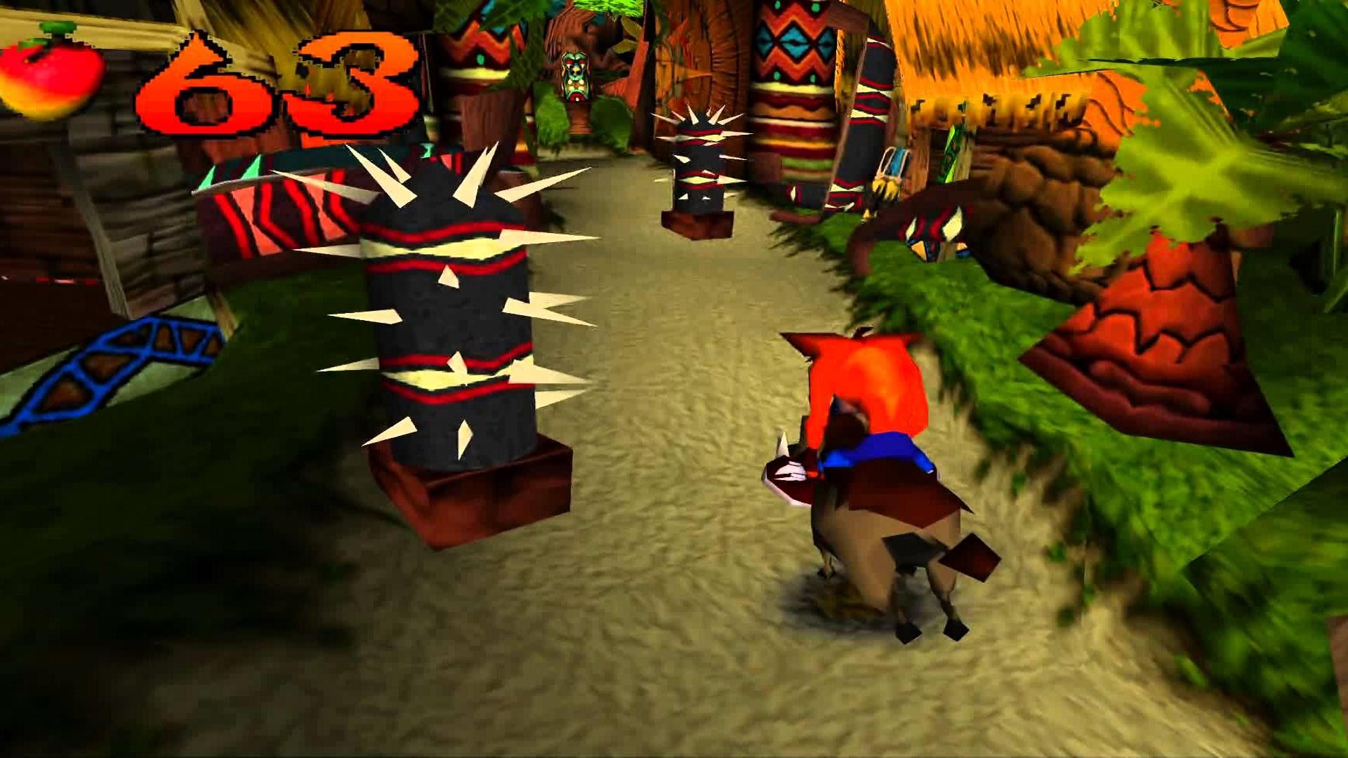 Crash Bandicoot, Sony Computer Entertainment