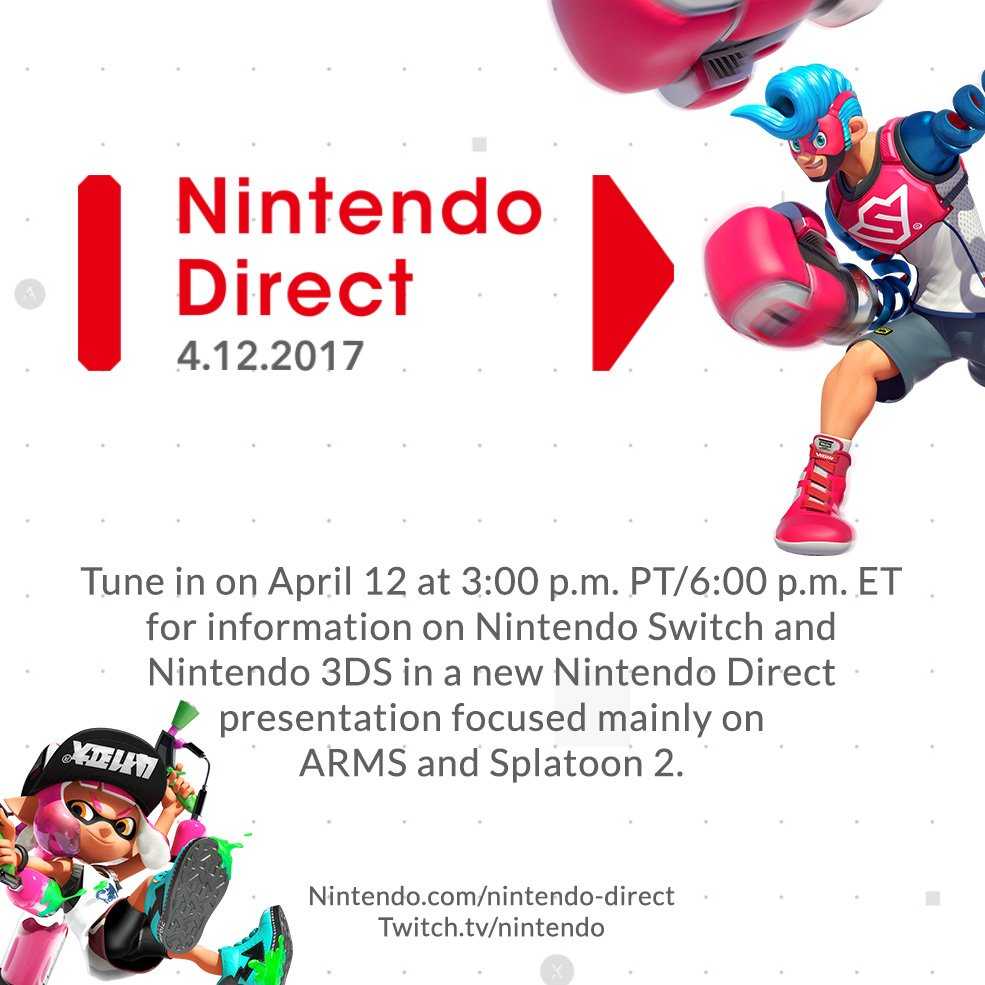 ARMS and Splatoon 2 Nintendo Direct / Nintendo