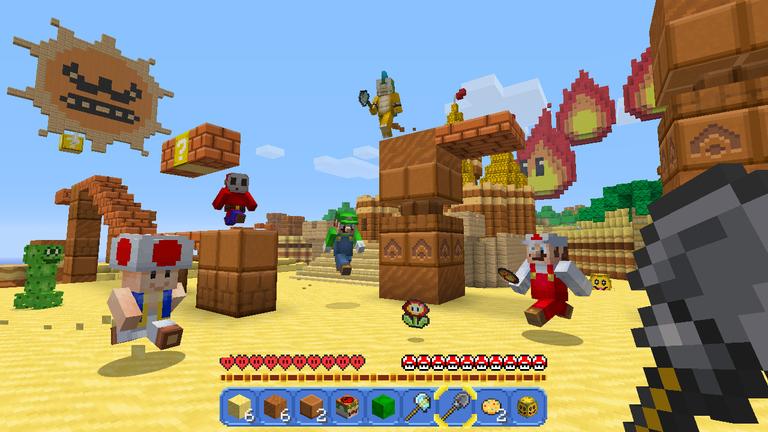 Super Mario Mash-Up Pack (Minecraft, Mojang)