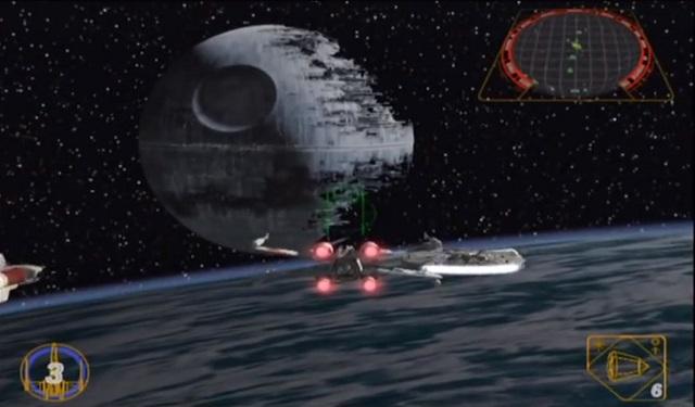 (Star Wars Rogue Leader: Rogue Squadron II - LucasArts)