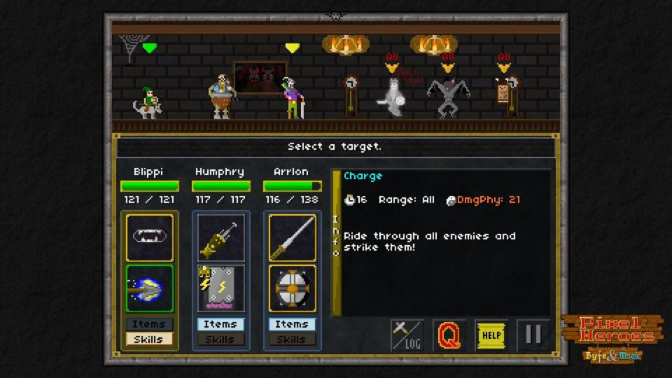 Pixel Heroes: Byte and Magic, Head Up Games