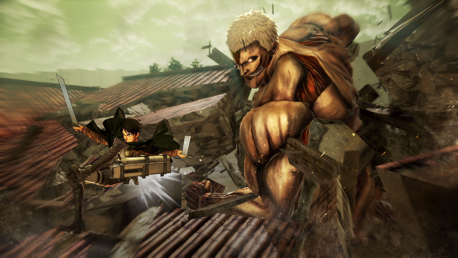 Bago Games Preview - Attack on Titan: Wings of Freedom on PC